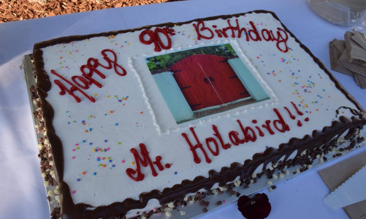 Mr. Holabird's 90th Birthday
