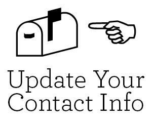 Update Your Contact Info graphic