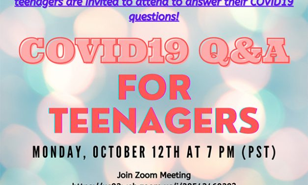 Covid q&a for TEENS