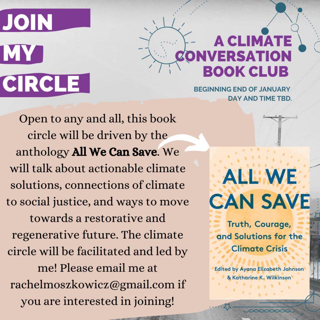Climate Conversation Book Club