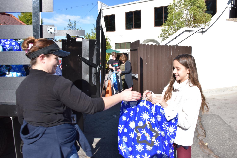 Photo: LA Family Housing Picks Up Donations