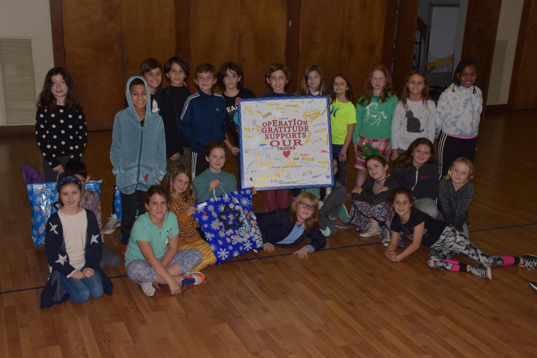 Photo: Operation Gratitude: 4th Grade