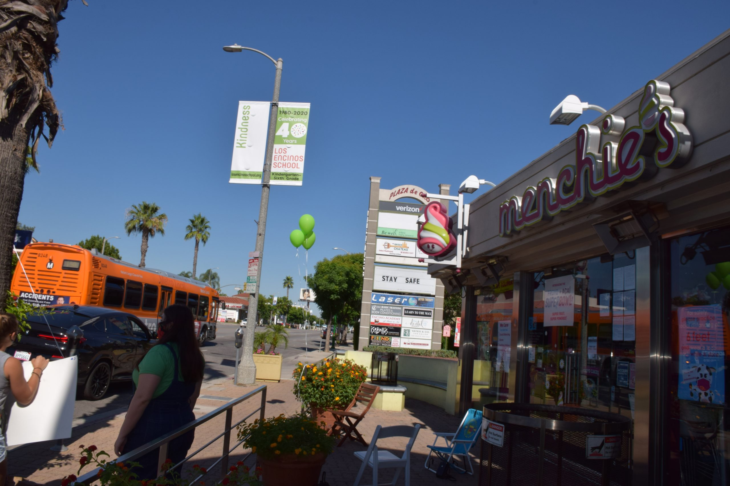 Photo: The scavenger hunt stopped at Menchie's.
