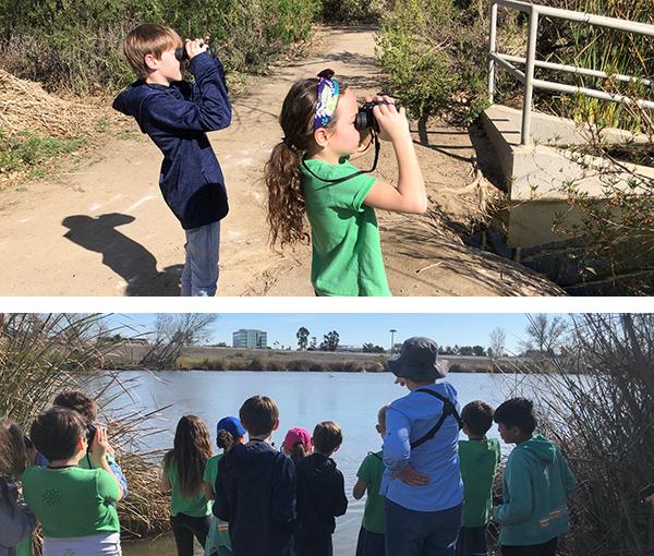 3rd graders visit Sepulveda Wildlife Basin