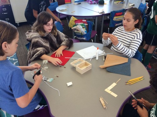 Classroom STEAM project