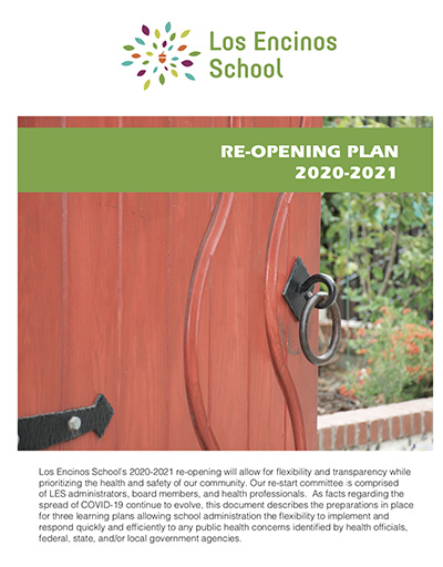 Re-Opening Plan Cover Page
