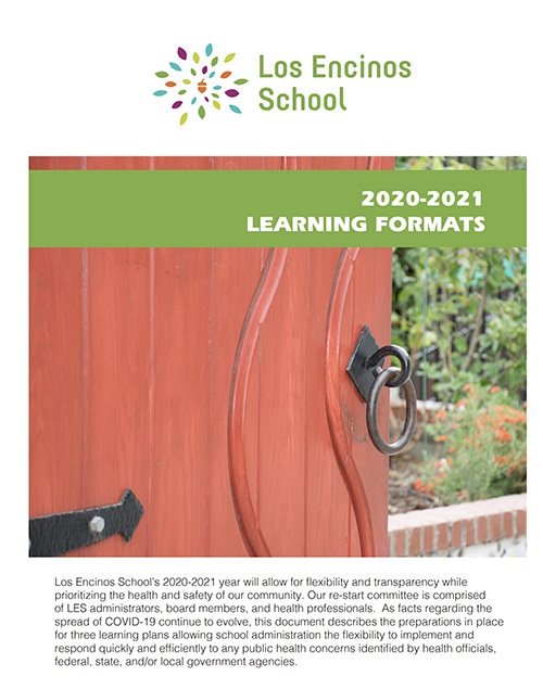 Learning Formats cover page