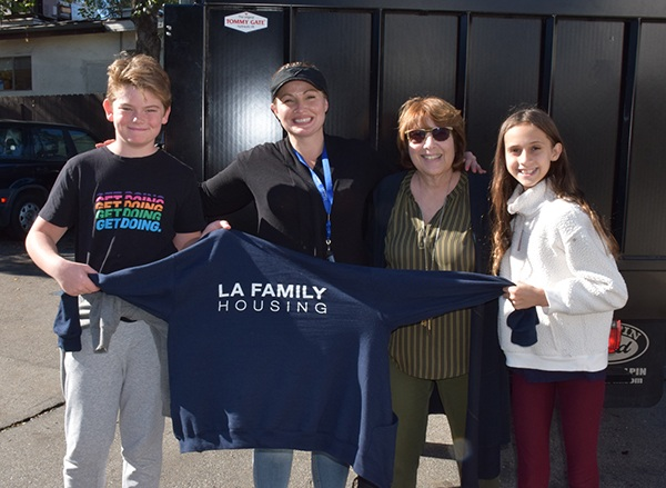 LES and LA Family Housing have a history of shared giving.