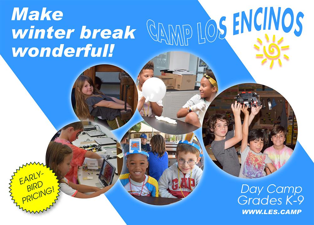 Winter Camp Los Encinos Photos